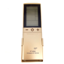 цена на New Fit For Qunda GREE LG CHUNLAN KT-N898 Gold Universal Air Conditioner A/C Remote Control 2000 In 1 LCD Controller Expert
