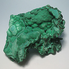 Natural dark green of malachite green malachite stone specimens / Boutique ore mine mark rough stone stone
