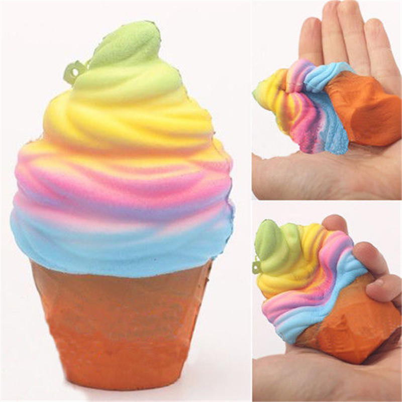 Hot sell Cream Squishy Squeeze Slow Rising Fun BABY Toy Phone Strap Gift Decor