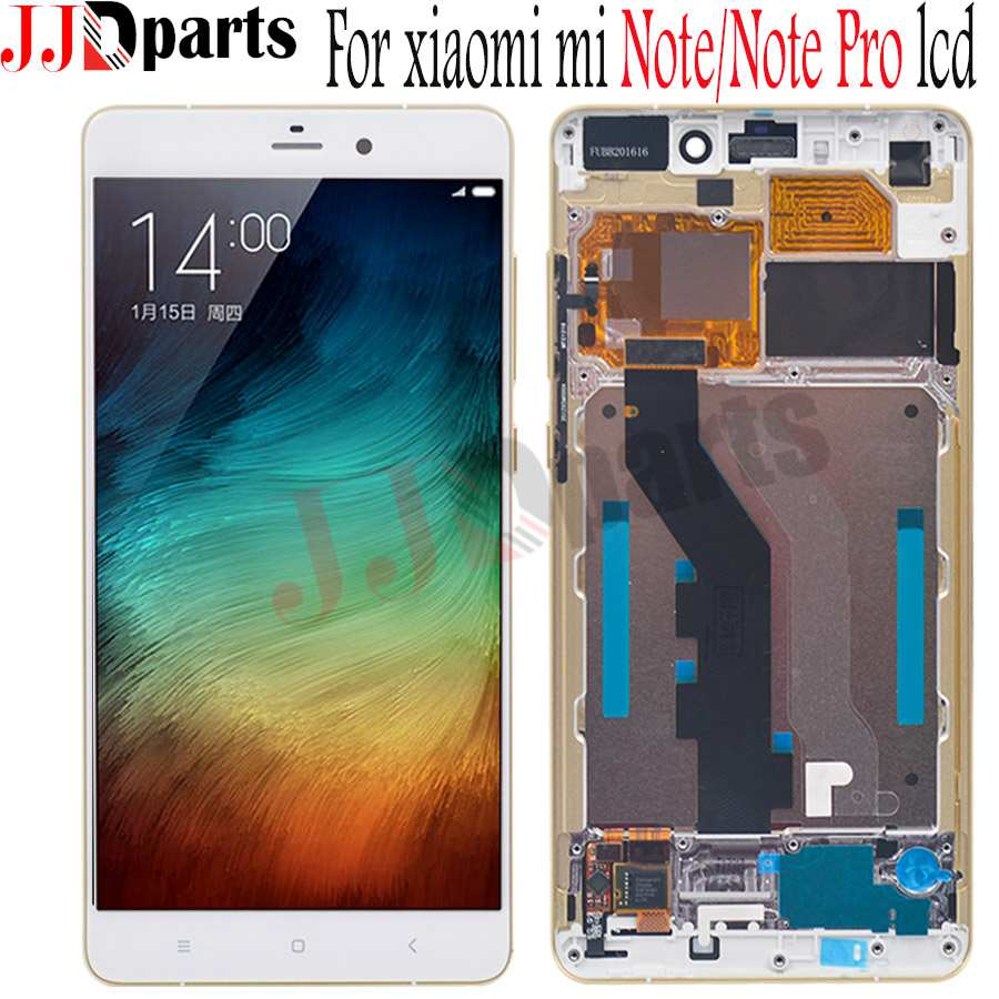 Original 5 7 For Xiaomi MI Note lcd MI Note pro LCD Display Touch Screen with