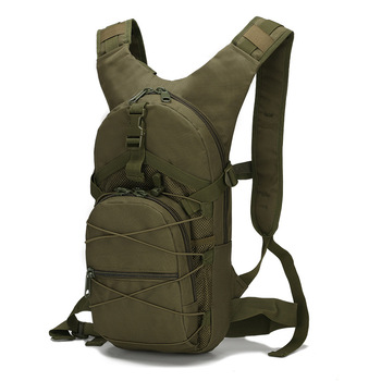 15L Molle Tactical Backpack 800D Oxford Military Hiking Bicycle Backpacks Outdoor Sports Cycling Climbing Camping Bag Army XA568 1