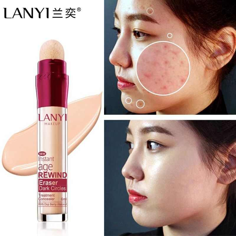 2019 New Hot Face Foundation Concealer Pen Long Lasting Dark Circles Corrector Contour Concealers Stick Cosmetic Makeup Fastship