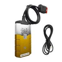 황금 색상 CDP 프로 DS 2015R3 녹색 더블 보드 활성화 블루투스 자동차 및 트럭 자동 진단 도구