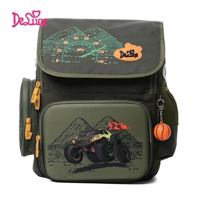 2017 Russia Style Children School Bags for Boys Waterproof Orthopedic font b Backpack b font Cartoon