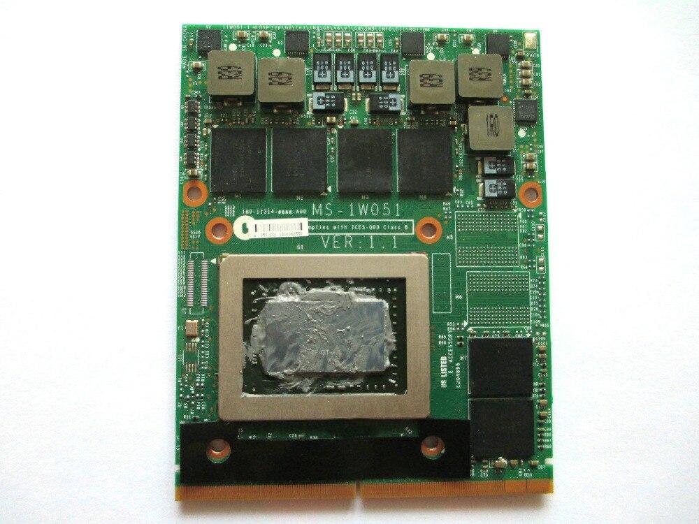 オリジナル GTX 570 メートル GTX570M ため GT60 GT70 GT683 GT680 GX680 GT780 GX780 MS 1W051 GDDR5 MXM グラフィックカード完全にテスト送料無料  グループ上の パソコン & オフィス からの パソコン ケーブル & コネクタ の中 1