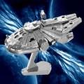 DIY 3D Metal Puzzle Model Toys Star Wars For Children/Adult Cartoon Robot X-Wing R2-D2 RT-RT Model