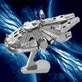 DIY Metal 3D Puzzle Modelo Brinquedos Star Wars Para Crianças/Adulto Dos Desenhos Animados do Robô X-Asa R2-D2 RT-RT Modelo