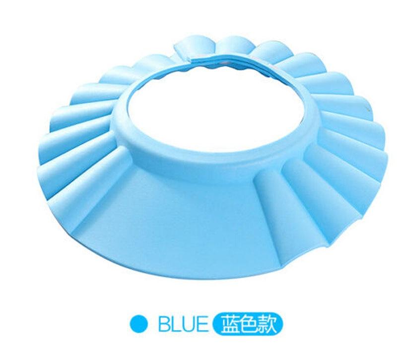 Useful Baby Shower Cap Children Shampoo Bath Wash Hair Shield Hat Soft & Adjustable