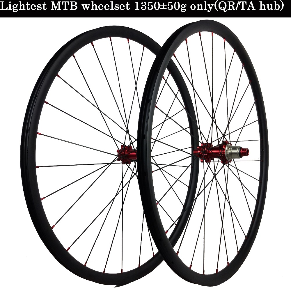 29 inch Lightest carbon mountain XC MTB wheel 1290g 27er sticker 26 wheelset Novatec/powerway/DT 350 240s quick release/axle hub rear wheel hub for mazda 3 bk 2003 2008 bbm2 26 15xa bbm2 26 15xb bp4k 26 15xa bp4k 26 15xb bp4k 26 15xc bp4k 26 15xd