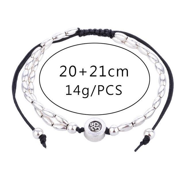 Bohomia Ethnic Starfish Charms Anklets Foot Jewelry for Women Buddha Yoga Practice Hot Summer Beach Ankle Bracelet