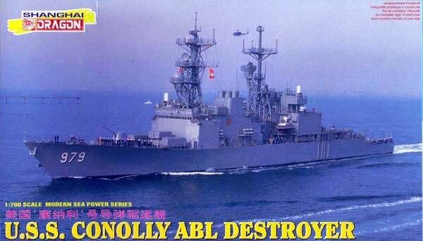 Dragon 7025 1 700 U S S CONOLLY ABL DESTROYER Model kit