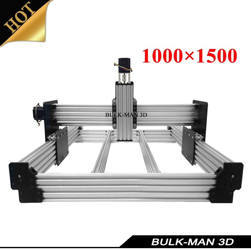 OX Upgrade Version WorkBee CNC Mechanical Kit for DIY CNC Engraving Machine,Milling Machine,Wooding Router 1000*1500mm workbee cnc aluminum plates kit lead screw driven and belt version for workbee cnc router machine cnc engraving machine