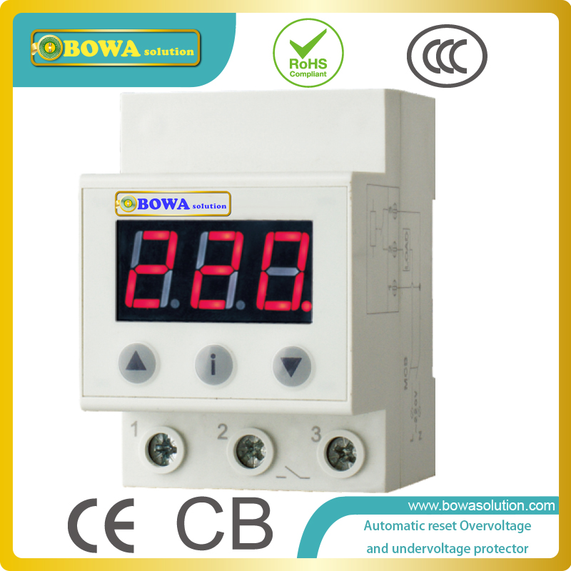 Automatic reset overvoltage and undervoltage protector against abnormal voltage(too high or too low) of power grid abnormal psychology 4e
