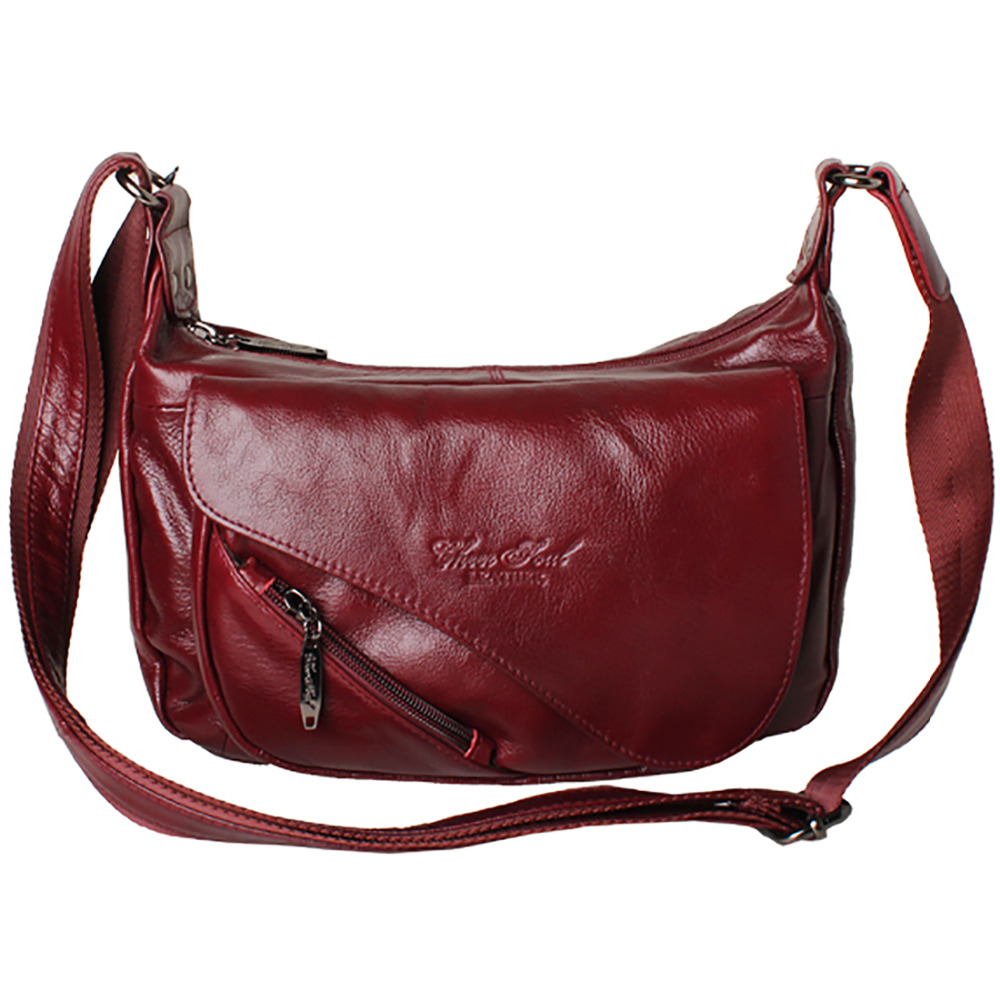 Genuine Real Leather Cowhide Bags Women Cross Body Shoulder Bag Travel Casual Lady Brand Famous Large Capacity Messenger Bags casual genuine leather large capacity one shoulder cross body bags women fashion handbag