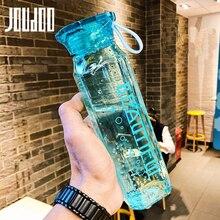 JOUDOO 350ml 550ml Diamond Portable Water Bottle Tour Outdoor Sport School Leak Proof Seal Plastic Drinkware 35