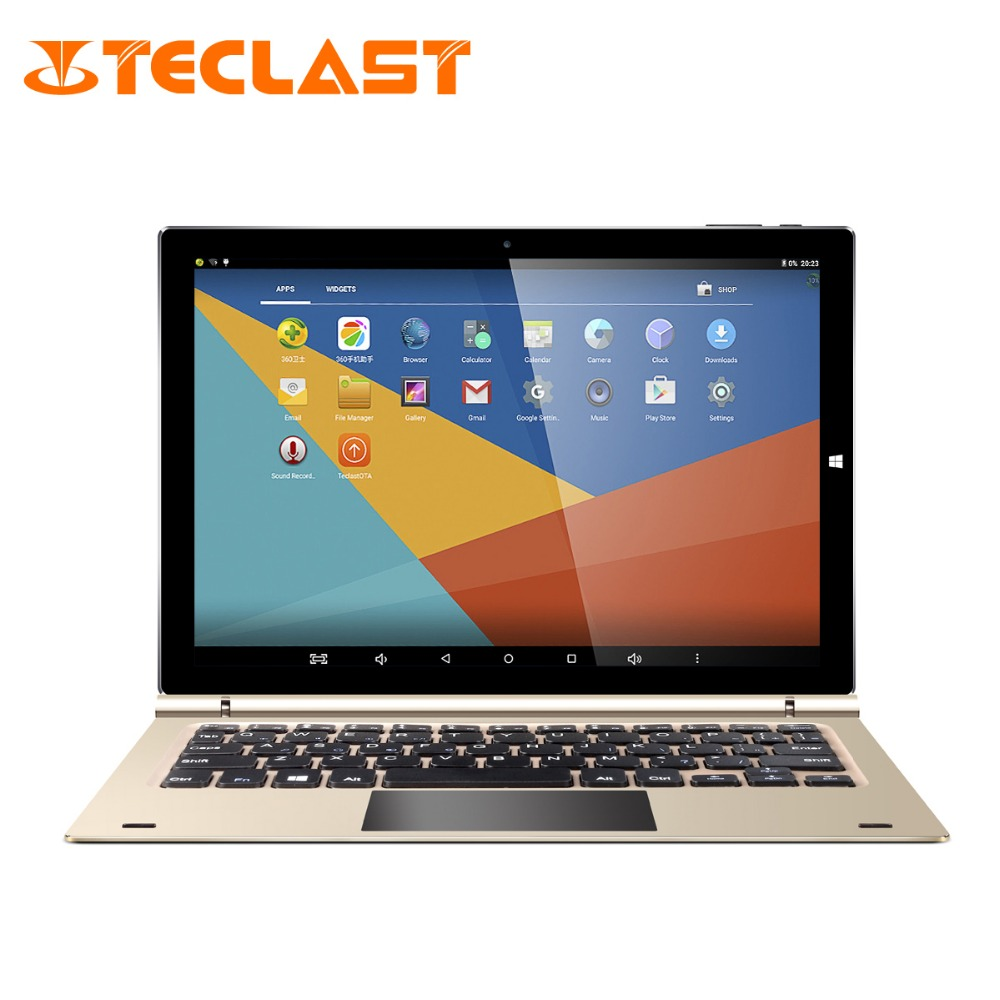 Teclast Tbook 10s 10.1 Inch 1920*1200 2 in 1 Tablet PC Dual Boot Windows 10+Android 5.1 Intel Z8350 Quad Core 4G RAM 64G ROM vido w8c intel z3735f quad core 1 3ghz 8 inch ips dual boot tablet