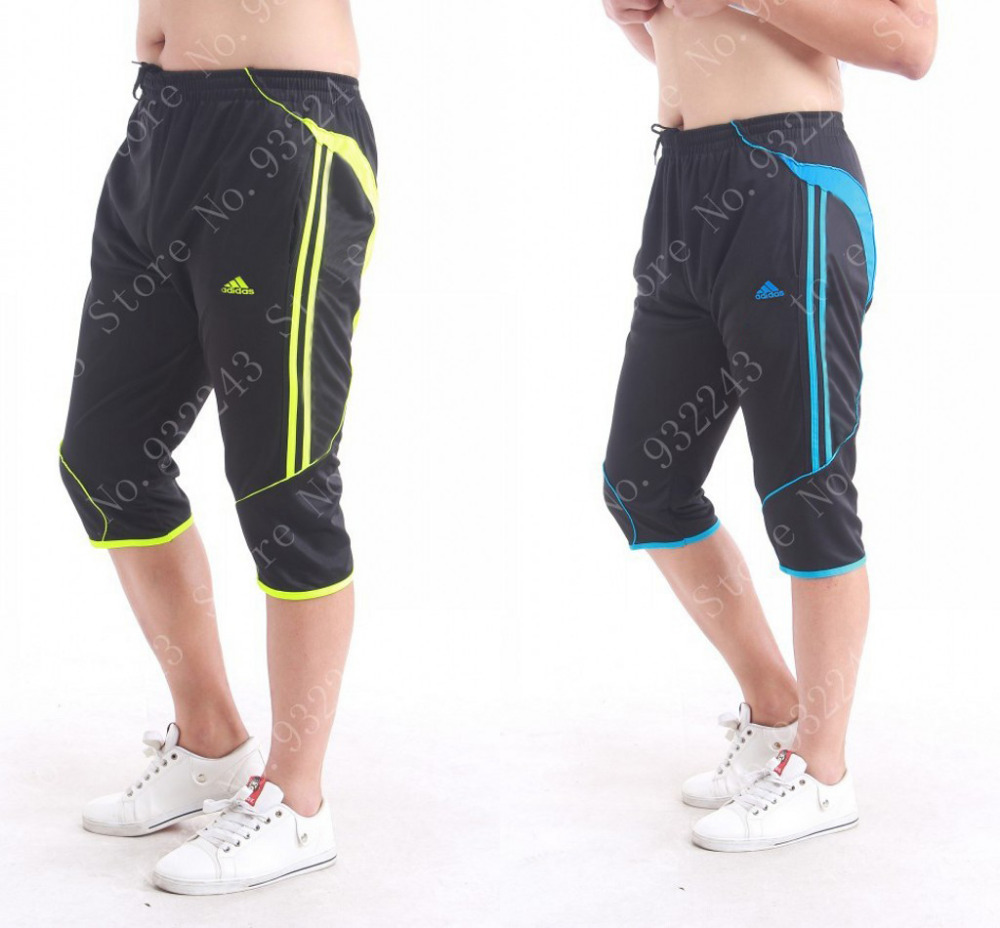 hombres 3 4 de la pista sweat pants pantalones deportivos trackpants boy pantalones cosechados. Black Bedroom Furniture Sets. Home Design Ideas