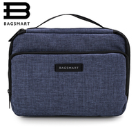 Bagsmart Portable Accessories Bag Design Bag Large Capacity Electronic Organizers Water ResistantAir Travel Bag