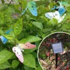 LED Solar Powered Butterfly String Lights  3