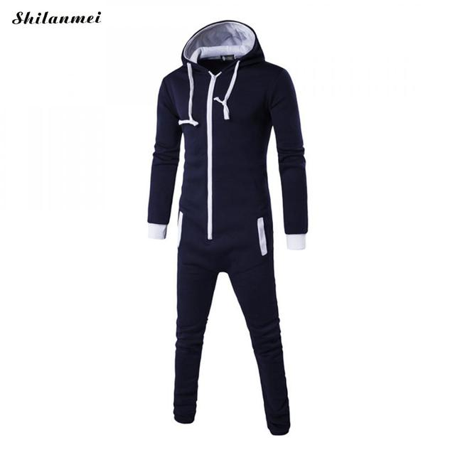 b2253b10567 Autumn Male Hip Hop Jumpsuit Pants Harajuku Gothic Rompers Spring Mens  Harem Cargo Overalls Casual Long Bibs Pants Gray Hoodies