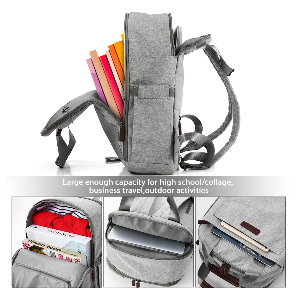 Travel Laptop Backpack,Business Anti Theft Slim Durable Laptops Backpack