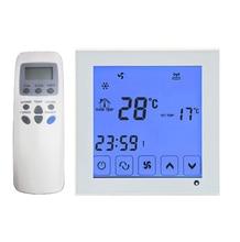 2 P 4 P сенсорный экран Fan-coil-программа термостат температуры контроллер с дистанционным