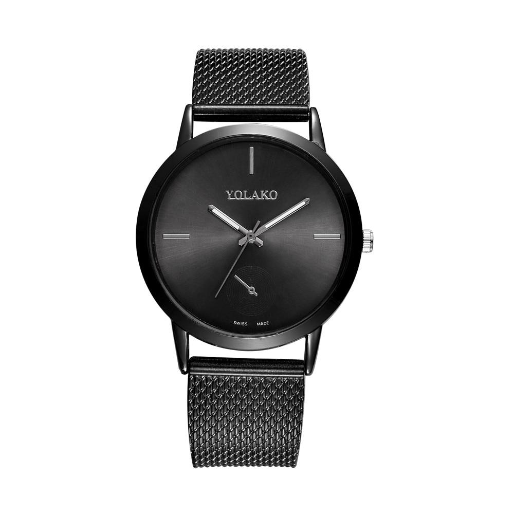 Fashionable High Hardness Glass Mirror Men And Women General Mesh Belt Watch Women Watches Ladies Watch Reloj Hombre Horloge