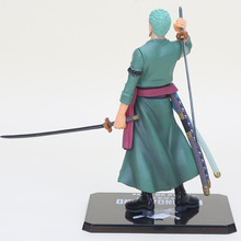 Cool 6″ One Piece Roronoa After 2 Years Roronoa Zoro THE NEW WORLD Zero PVC Action Figure Collection Model Toy