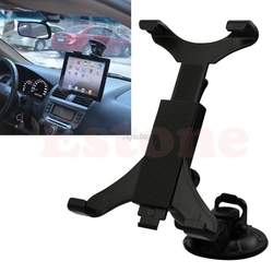 Car Suction Cup Mount Windshield Dashboard Mount Holder Cradle Stand for For ipad air 2/ipad mini/ Tablet PC Stands Newest Nov09