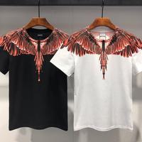 2019 Marcelo Burlon T Shirts Summer Hip Hop RODEO MAGAZINE MB T shirt Italy Milan Wings Marcelo Burlon T Shirt Top Tees