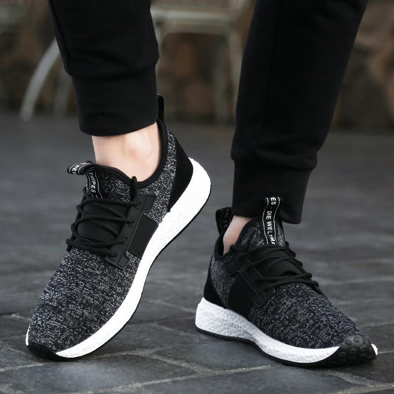2018 Heren Sneakers Ademende Heren Casual Schoenen Comfortabele Heren - Herenschoenen - Foto 5
