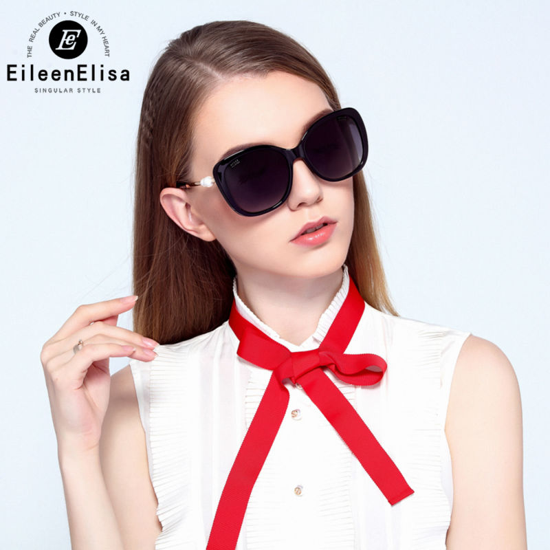 EE Pearl Sunglasses Women Brand Designer Polarized Sunglasses Women Luxury 2016 UV400 Protection Sunglasses rbspace brand 2015 hot summer style sunglasses oval lenses fashion sunglasses uv400 luxury retro women s sunglasses
