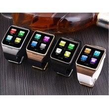 Smart watch lg128 smartwatch mit wearable nfc, unterstützung Sim-karte 1.3mp Kamera Fernbedienung Erfassen Schlaf-monitor Armbanduhr