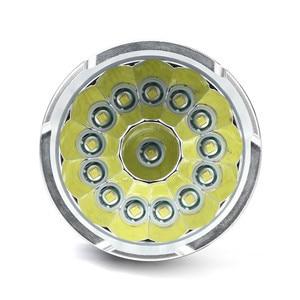 Image 5 - Potente linterna LED T6, 14 x XML, 18650, 18650, táctica, 5 modos, para caza y camping