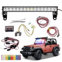 New 1/10 RC Car Front And Rear Led Light System Set For 1/10 RC Crawler Car TRX4 for Ford Bronco Ranger