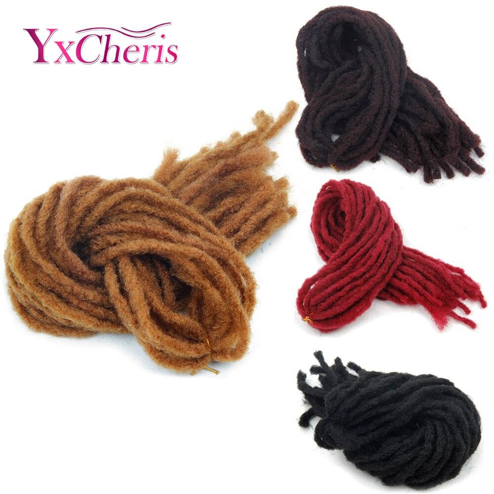 dreadlock faux locs crochet hair braid bob marley synthetic braiding hair extension janet collection dread locs