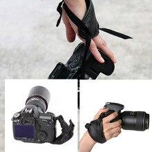 Высокое качество камера ручка PU рукоятка ремешок фотографии аксессуары для Nikon Canon sony камера