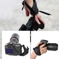 Accessoires de photographie de sangle de poignet de poignée de main d'unité centrale de poignée d'appareil-photo de haute qualité pour l'appareil-photo Sony de Canon de Nikon