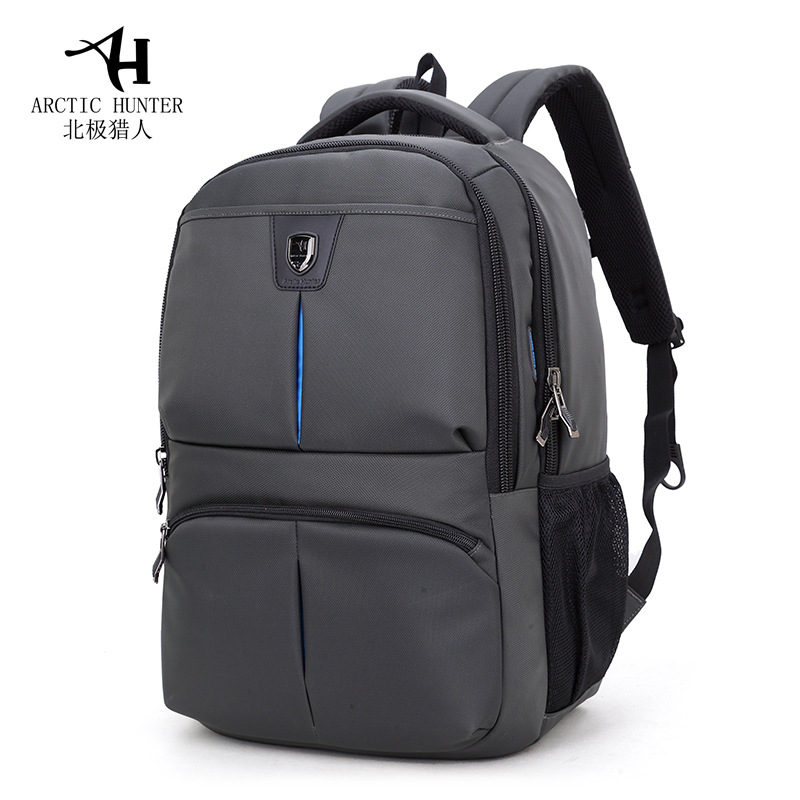 Brand Black Casual School Bag Backpack Men 2017 Nylon Waterproof Book Bag Youth 15.6 inch Laptop Backpacks Male Travel Bags  fengdong men backpack oxford youth fashion brand usb charge designer back pack college bags school bag waterproof backpacks male