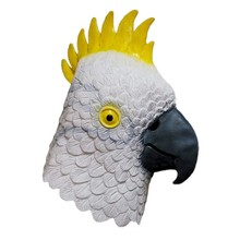 Realistic Animal Latex Brid Head Parrot Rubber Mask for Halloween Party