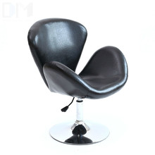 High Quality PU Material Short Swivel Lifting Chair Ergonomic Bar Stool Office/Waiting Room/Reception/Computer Chair cadeira high quality pu ergonomic executive office chair swivel chair lying adjustable lifting lengthen backseat bureaustoel ergonomisch