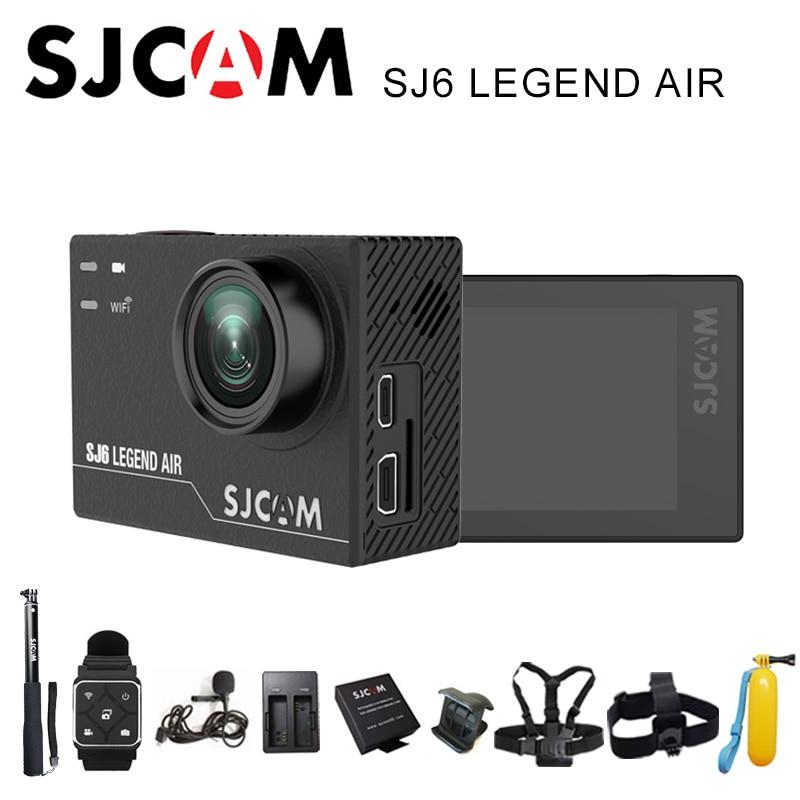 SJCAM SJ6 Legend AIR Sports Action Camera 4K Wifi 30M Waterproof 1080P Ultra HD 2 Touch Screen Notavek 96660 Sport DV sjcam sj6 legend wifi action camera notavek 96660 ultra hd 4k 24fps 1080p waterproof 2 0 touch screen remote sports dv kamera