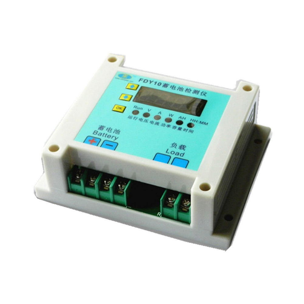 Battery Discharger and Capacity Tester 1V-60V 0.1A-10A Display Time Battery Voltage Current Power AH&time 110w constant current electronic load tester 10a 1v 30v battery discharge capacity test equipment