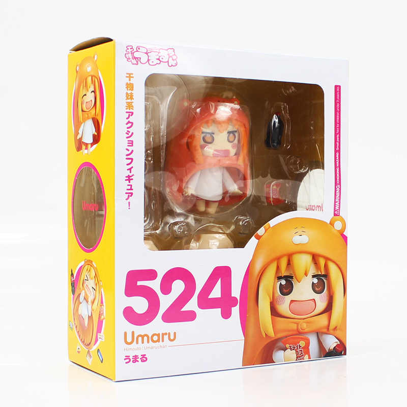 New Arriving 8cm Nendoroid 524 Umaru Chan Manga Himouto Good Smile Cartoon PVC Action Figure Collection Toy Model Doll Gift
