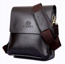 New High Quality men bussiness PU bag leather men bag factory price shoulder bag man messenger bags    LJ-409