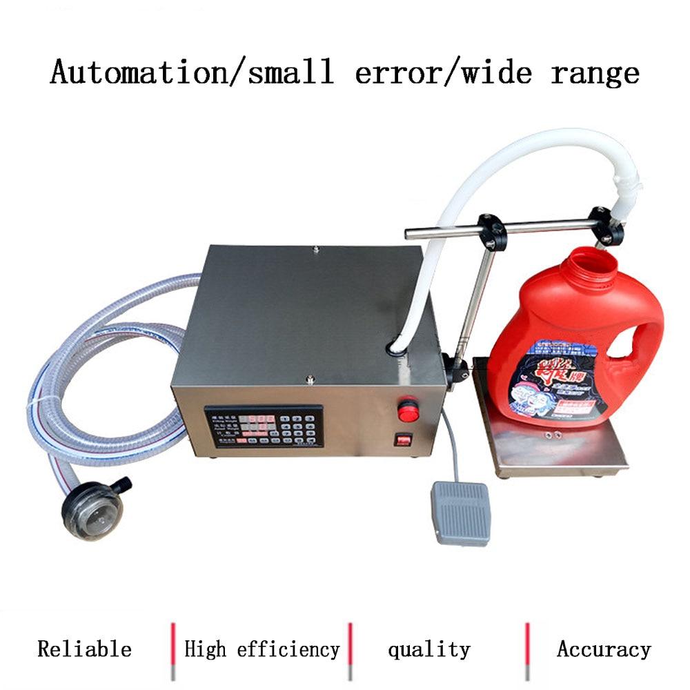 Maszyna do napełniania cieczą 110v 220v pojedynczy klosz ważenie i napełniarka do alkoholu, sosu sojowego, napojów