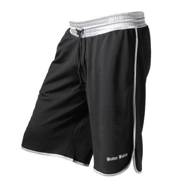 Summer New Gym Mens Sport Running Shorts Quick Dry 4