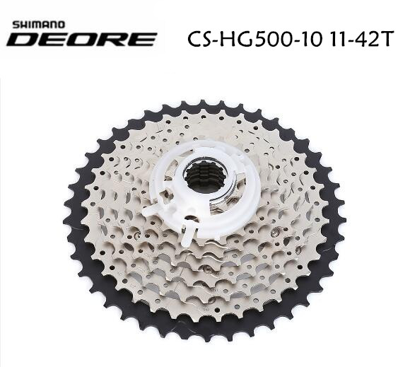 Shimano HG50 HG500 10 Speed M6000 mtb cassette Mountain Bike bicycle freewheel HG-500-10 11-34T 11-36T 11-42T 10 speed cassette 11 42t gold mtb cassette 10 speed fit for mountain bike road bicycle mtb bmx sram shimano
