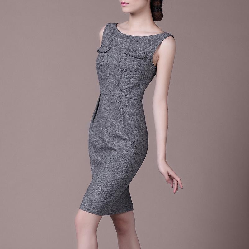 Femme printemps plus la taille 30% laine mince robes femme d'été surdimensionné vogue robe femmes automne formelle robe dame robes de couverture