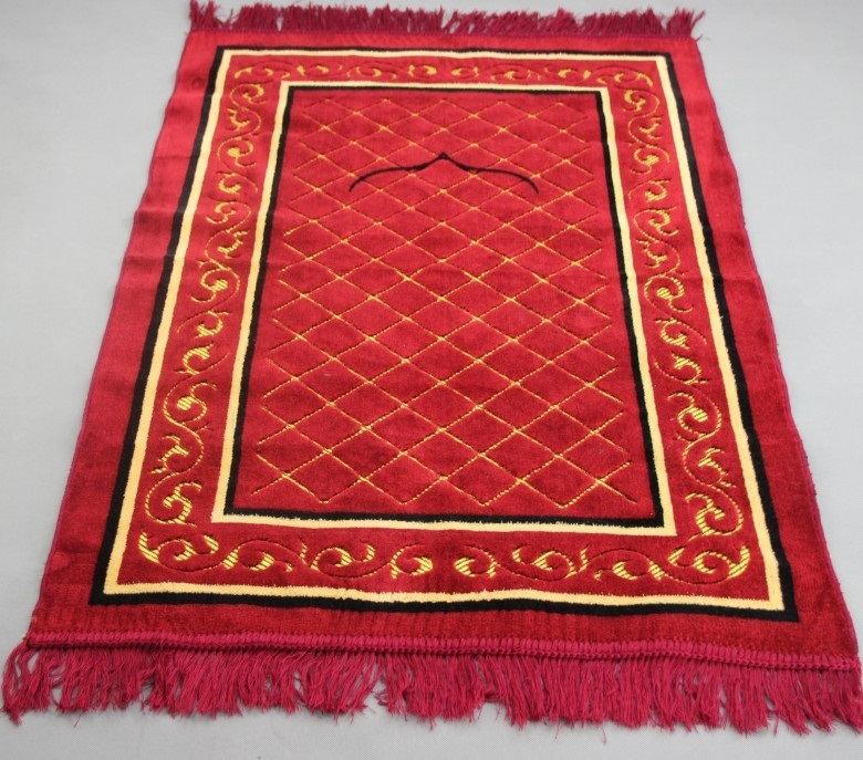 Prayer Rug Company: Free Ship Jacquard Velve Islamic Muslim Prayer Mat Blanket